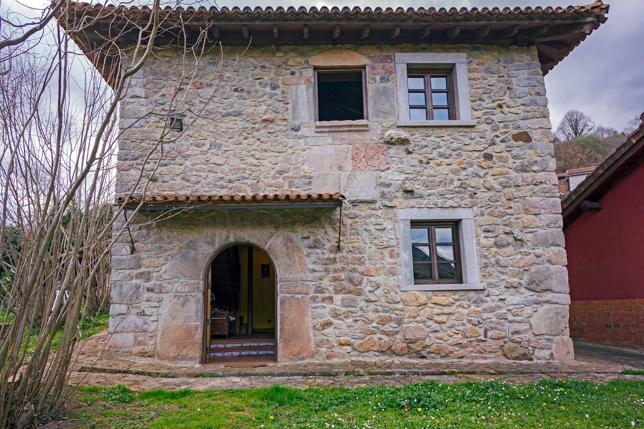 Casa rural catalogada con tres tr squeles m xima categoria que concede principado de asturias - Casas rurales cerca de oviedo ...