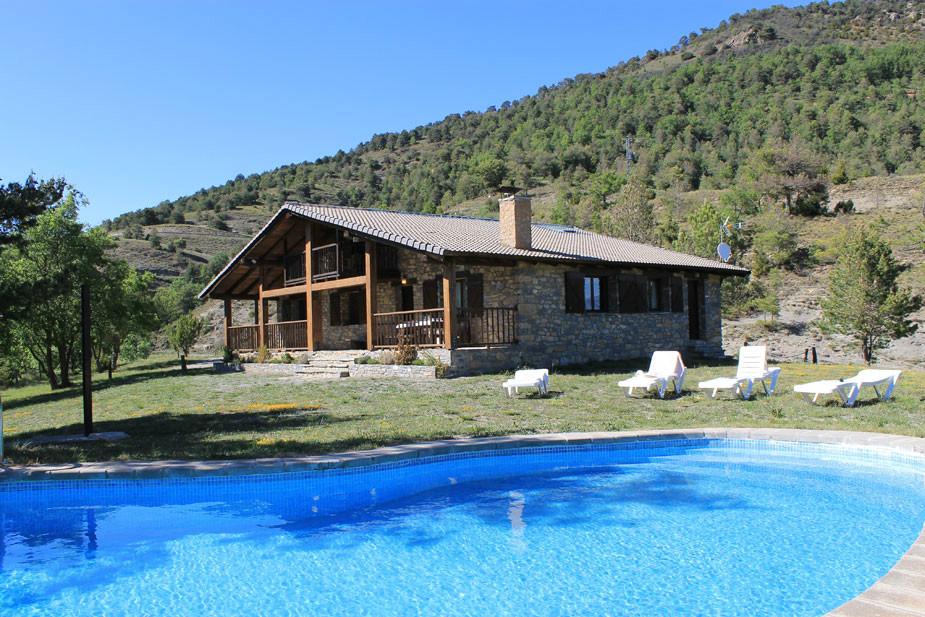 Sr 327 lleida catalu a reserva online - Casas rurales lleida piscina ...